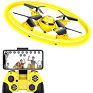 HASAKEE Q8 FPV Drone with HD Camera and Night Light,RC Drones for Kids Quadcopter with Altitude...