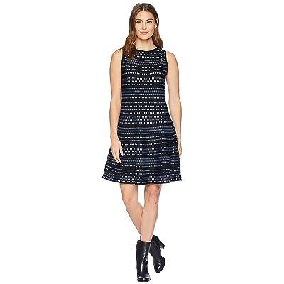 NIC+ZOE This Or That Twirl Dress (Bluestone) Women
