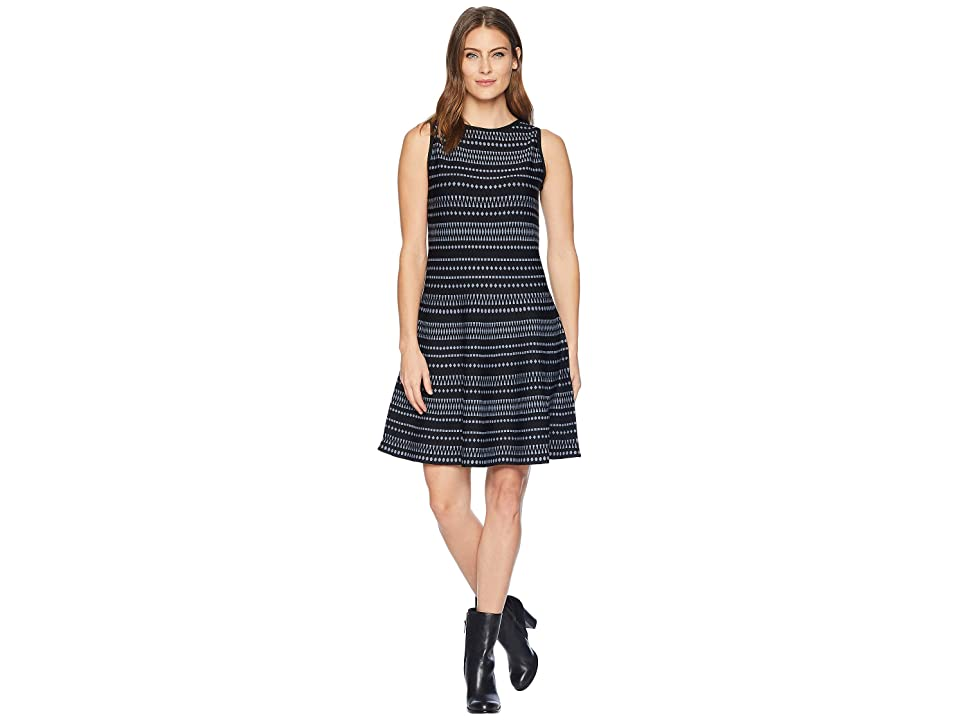 NIC+ZOE This Or That Twirl Dress (Bluestone) Women