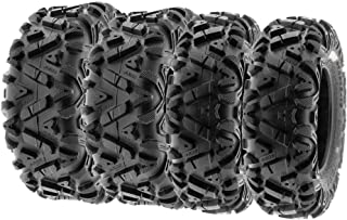 SunF 28x9-12 28x11-12 ATV UTV Tires 6 PR Tubeless A033 POWER I [Bundle]