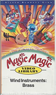 MUSIC MAGIC VIDEO WIND INSTRUMENTS BRASS GR 6 95 VHS