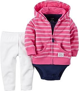 Baby Girls' 3 Piece Cardigan Set 121g380
