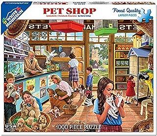 White Mountain Puzzles Pet Shop- 1000 Piece Jigsaw Puzzle
