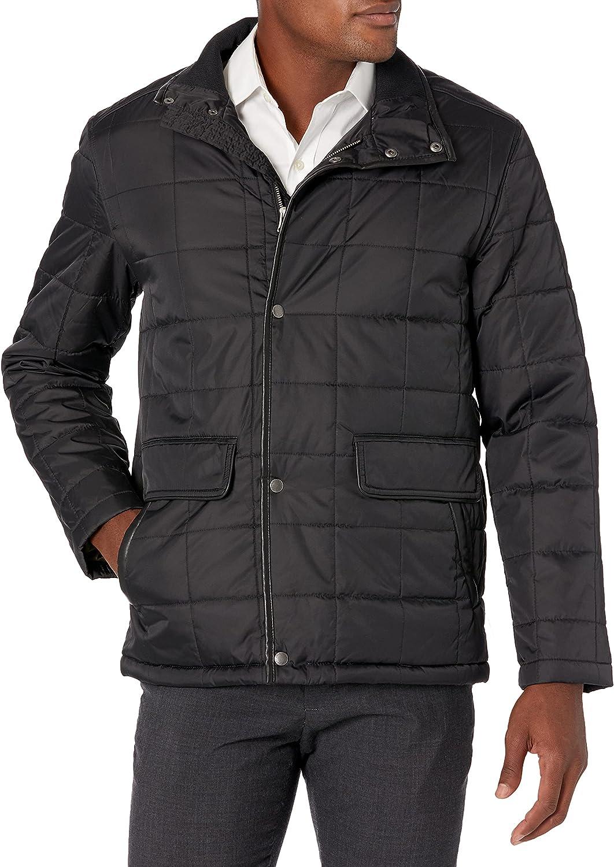 Cole Haan Men's Box Quilted Jacket