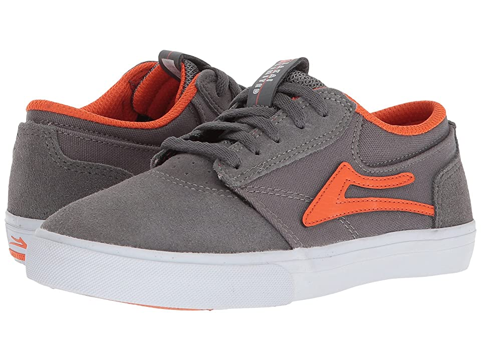Lakai Griffin (Little Kid/Big Kid) (Grey Rust Suede) Men