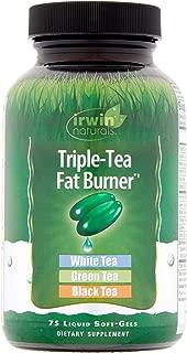 Irwin Naturals Triple Tea Fat Burner, 75 Softgels (Pack of 2)