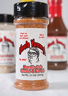 uncle yammy's chicken and rib rub