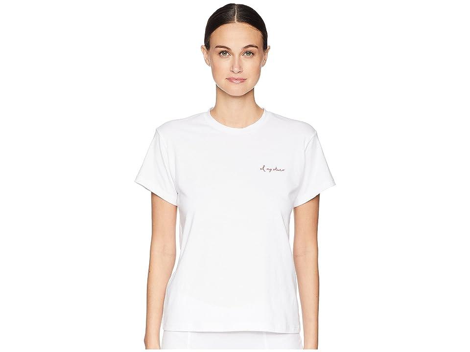 Maison Du Soir Oh My Stars T-Shirt (White) Women's T Shirt