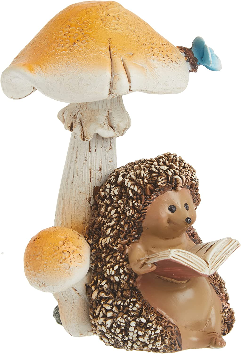 Top Collection Miniature Max 72% OFF Fairy Garden Hedgehog New Free Shipping Terrarium and Rea