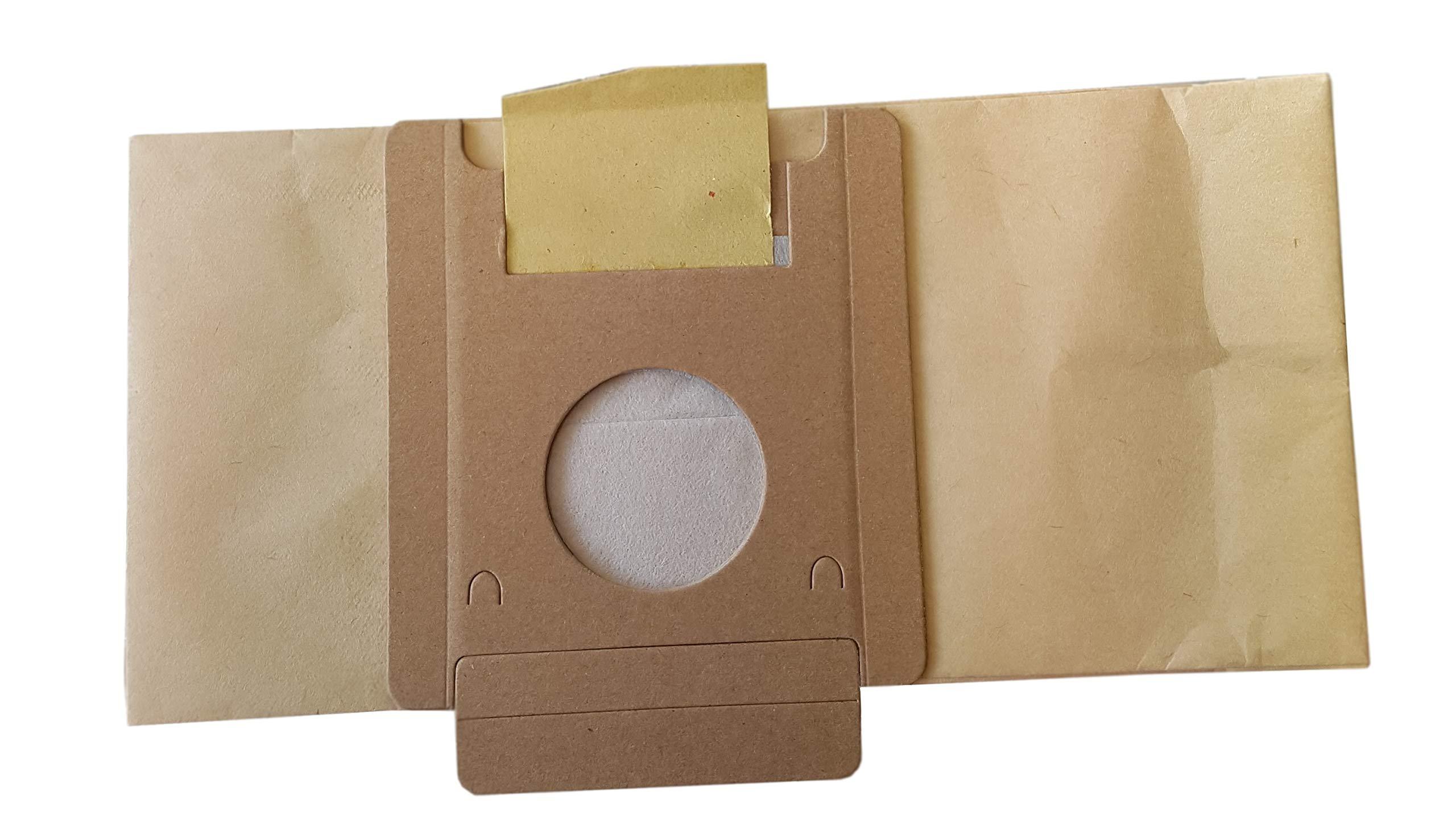 Bolsa para aspiradora Moulinex Powerpack, BQ1, BQ2, BQ3, Effimax, DJ1, DJ5, bolsa de 10 bolsas de papel: Amazon.es: Hogar