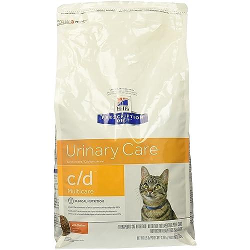 Hills Prescription Diet c/d Feline Urinary Tract Multicare, Chicken - 8.5lb