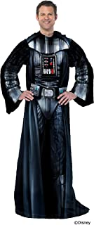 Star Wars Being Darth Vader Adult Soft Throw Blanket with Sleeves