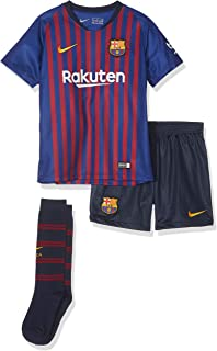 NIKE 2018-2019 Barcelona Home Little Boys Mini Kit