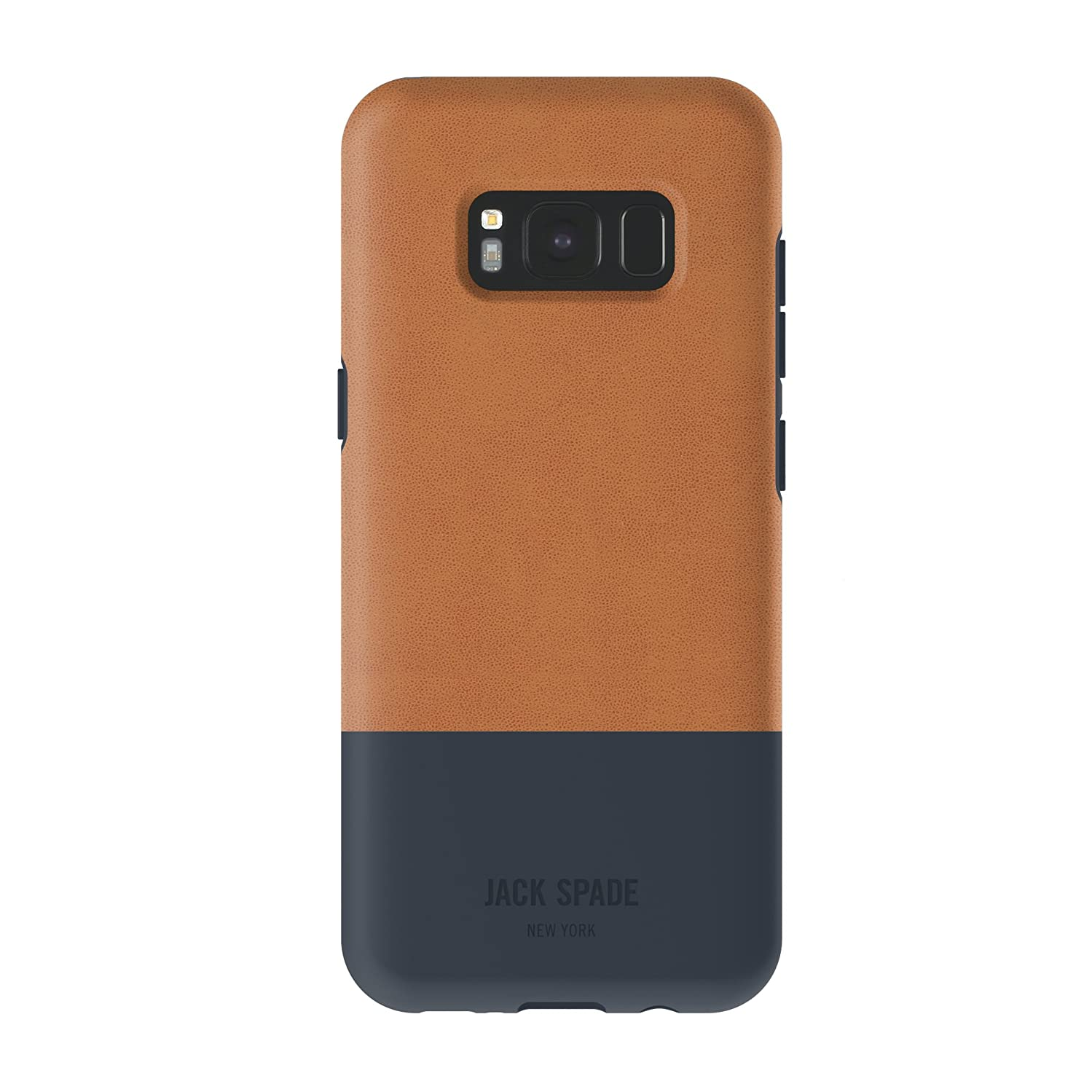 JACK SPADE Color-Block Case for Samsung Galaxy S8 - Fulton Tan/Navy