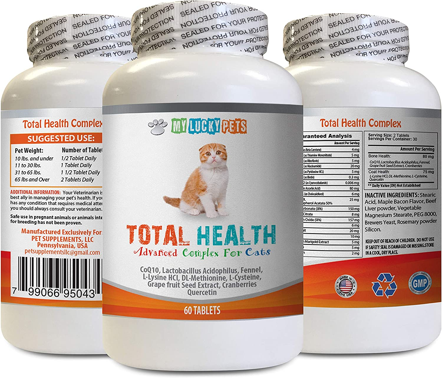 MY OFFicial National products LUCKY PETS LLC cat Immune CAT Total Health - Formula