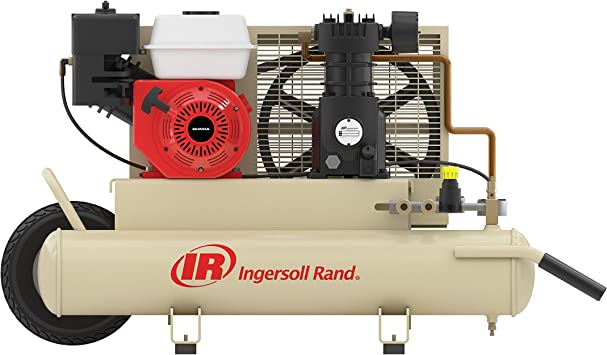 Ingersoll-Rand SS3J5.5GH-WB 5.5 Horsepower 8 Gallon Oiled Gas Twin Pontoon Compressor: image