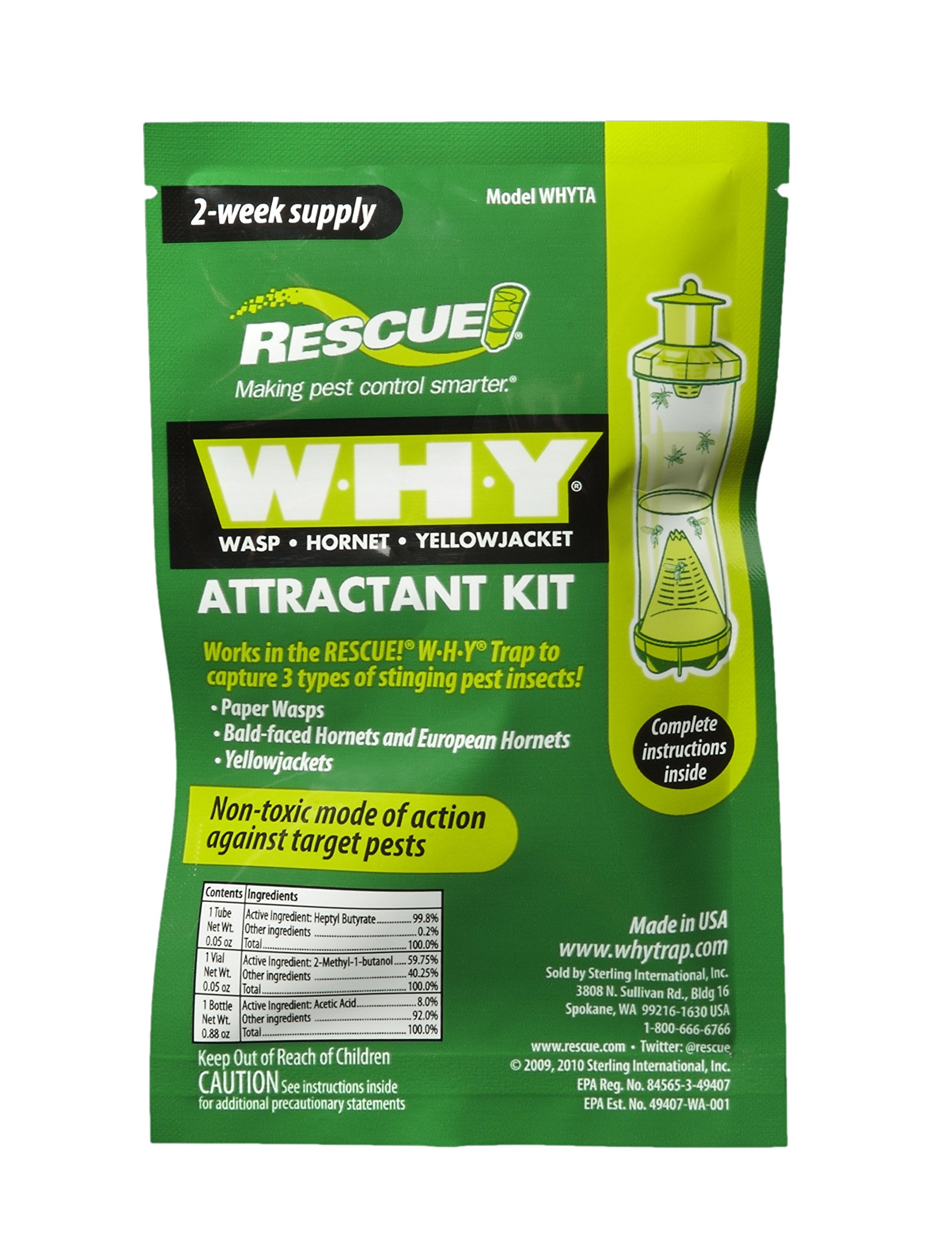 Rescue WHYTA Hornet Yellow Attractant