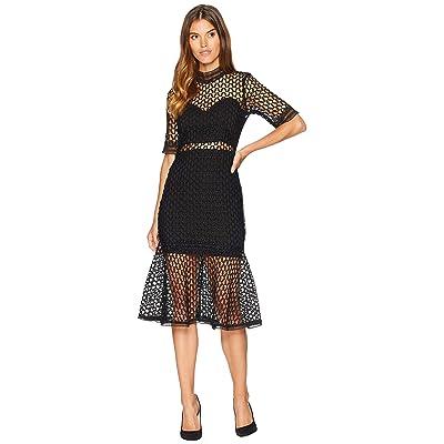 Bardot Fiona Mesh Dress (Black) Women