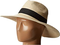 Hat Attack - Fine Braid Continental 2 Black Inset Trim