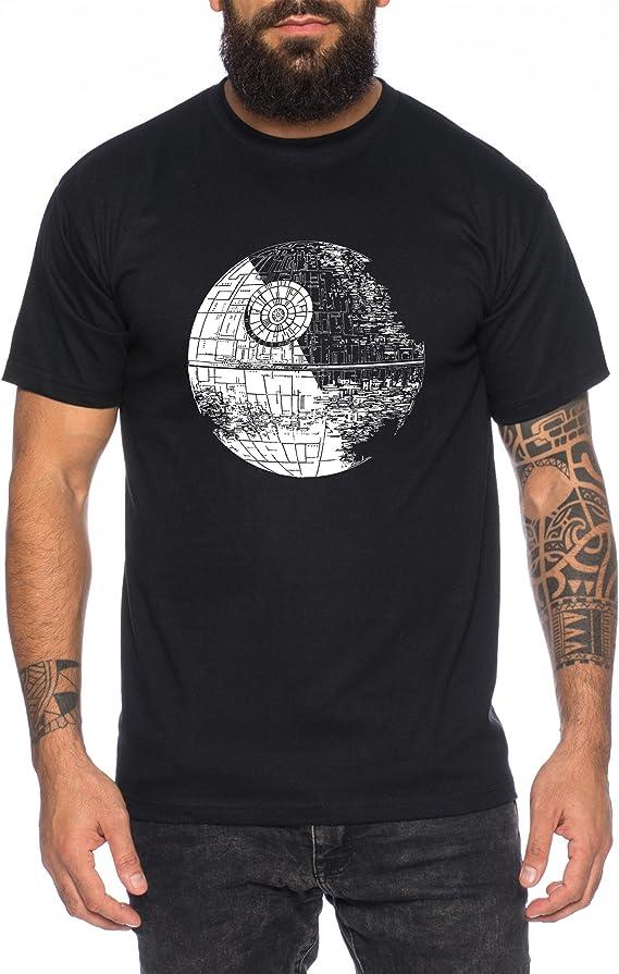 Todesstern Lord Skywalker Death Darth Imperium Star T-Shirt Herren