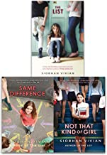 Siobhan Vivian Collection 3 Books Set (The List, Same Difference, Not That Kind Of Girl)