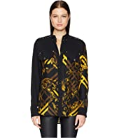 Versace Jeans Couture - Long Sleeve Printed Button Up
