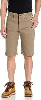 AKADEMIKS Men's Shady Stretch Shorts, Khaki, 36