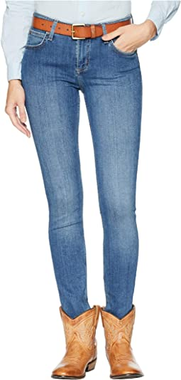Retro Mid-Rise Skinny Mae Jeans