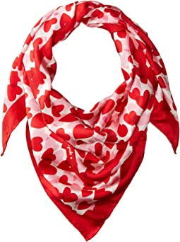 Kate Spade New York - Heart Party Square Scarf