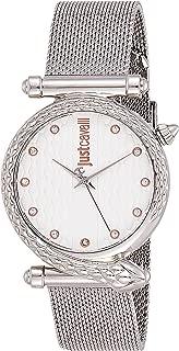 Just Cavalli Womens Quartz Watch, Analog-Digital Display and Stainless Steel Strap, JC1L075M0055