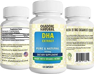 Oladole Natural DHA 500 mg - 120 Capsules