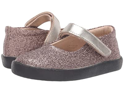 Old Soles Missy Shoe (Toddler/Little Kid) (Glam Chocolate/Titanium) Girl