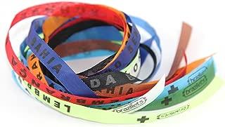 FLEEPS Brazilets, 12-Pack - Traditional Brazilian Bracelets - Tie-On Wish Bracelets - Bahia Bands Spiritual, Special or Friendship Bracelets {Nature}