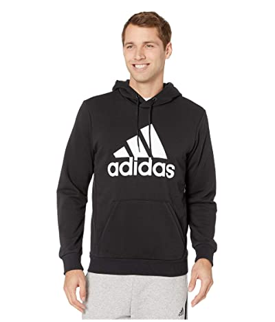 adidas Must Have French Terry Pullover Hoodie (Black/White) Men