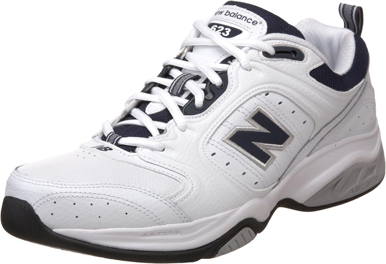New Balance Men's MX623 White