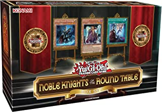 Yu-Gi-Oh! Cards Noble Knights of The Round Table Box Set + 1 Power-Up Pack with 3 Additional Cards from A 6-Card Set + 40 ...