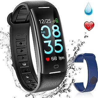 72f1eba3c180 AGPTEK Pulsera Actividad Inteligente Impermeable para Hombre y Mujer