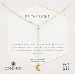 Be The Light, Sparkle Crescent Y-Necklace