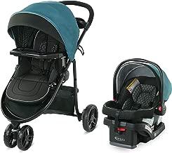 Graco Modes 3 Lite DLX Travel System | Includes Modes 3 Lite DLX Stroller and SnugRide SnugLock 30 Infant Car Seat