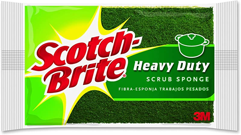 Scotch Brite Heavy Duty Scrub Sponge 6 Scrub Sponges