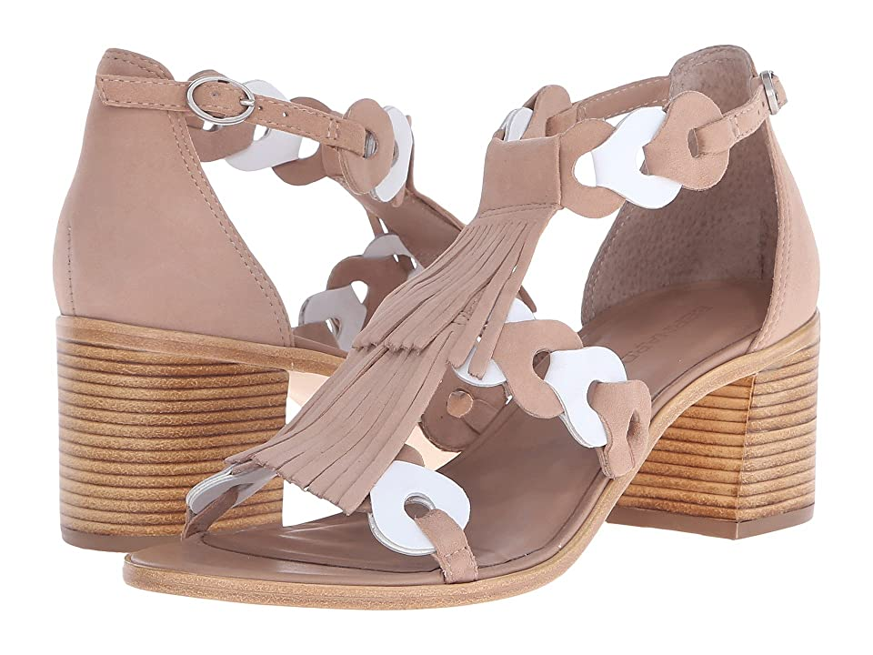 Image of Bernardo Brogan (Sand/White Suede) High Heels