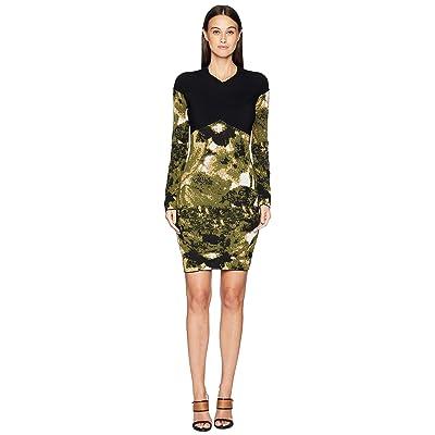 Nicole Miller Double Knit Dress (Camouflage) Women