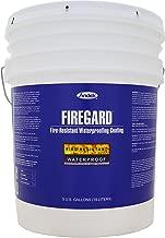 Andek Firegard, Fire Retardant Coating, 5 Gallon, White