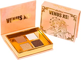 Lime Crime Limited Edition Venus XS - Solid Gold Eyeshadow Palette - 4 Color Matte and Metallic Eyeshadows - Long-Wearing, Buttery Smooth Formula - Vegan