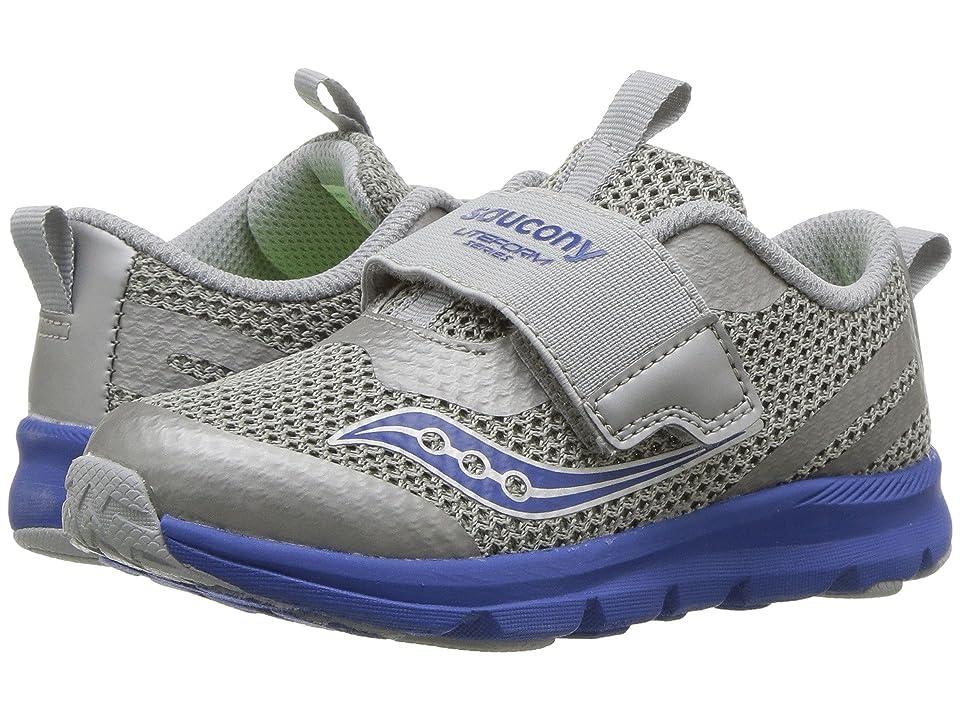 Saucony Kids Liteform (Toddler/Little Kid) (Grey/Blue) Boys Shoes