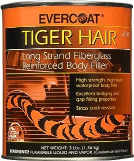 Evercoat Fibreglass 1189 Tiger Hair Long Strand Fiber Reinforced Filler - Quart
