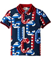 Gucci Kids - Graphic Logo Polo 546927XJAGN (Little Kids/Big Kids)