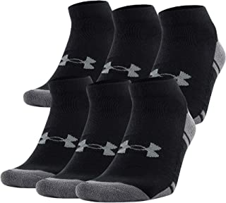Under Armour Men's Resistor III Lo Cut Socks (6-Pack)