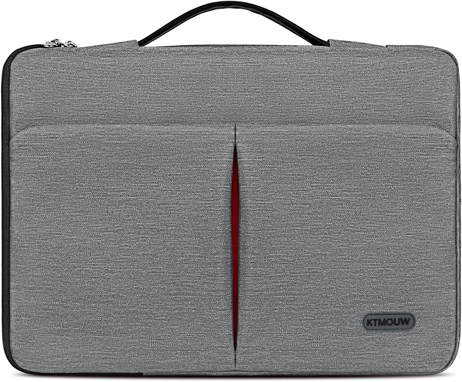 Laptop Sleeve Case 13-14 Inch Waterproof Portable Handle Laptop Case 360 Protective Laptop Briefcase Bag Compatible with 13
