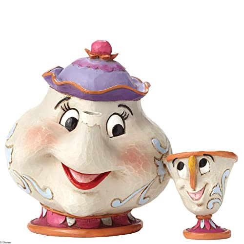 Disney Traditions 4049622 Figurine Mrs Potts and Chip Figurine Multicolore 10 cm